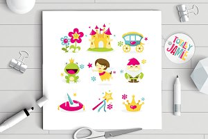 Whimsical Fairy Tale Princess Icon