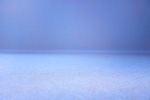 Horizontal cyan surface of floor bok