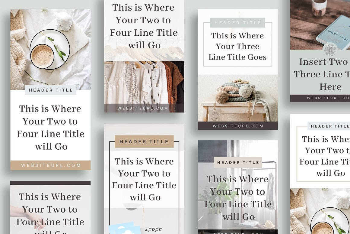 Pinterest Templates in Canva - Earth
