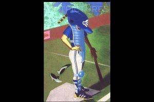 Baseball Handmade Illustration