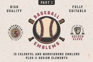 Baseball Emblems Part 1
