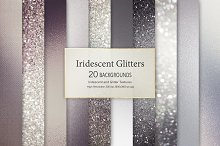 Black Grey Glitter and Foil Textures