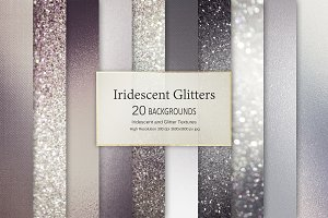 Iridescent and Glitter Textures