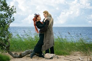 Viking and witch
