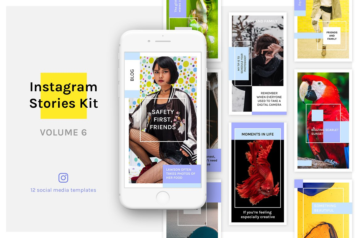 Instagram Stories Kit (Vol.6)