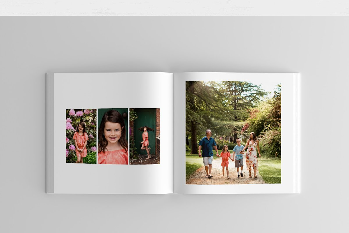 Photo Book Template for Photoshop