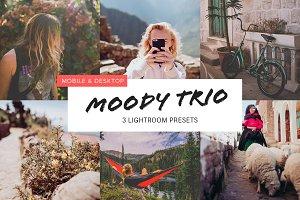 Moody Trio Lightroom Presets