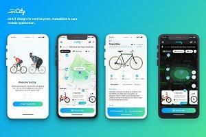 iCity - Rent bikes Mobile App