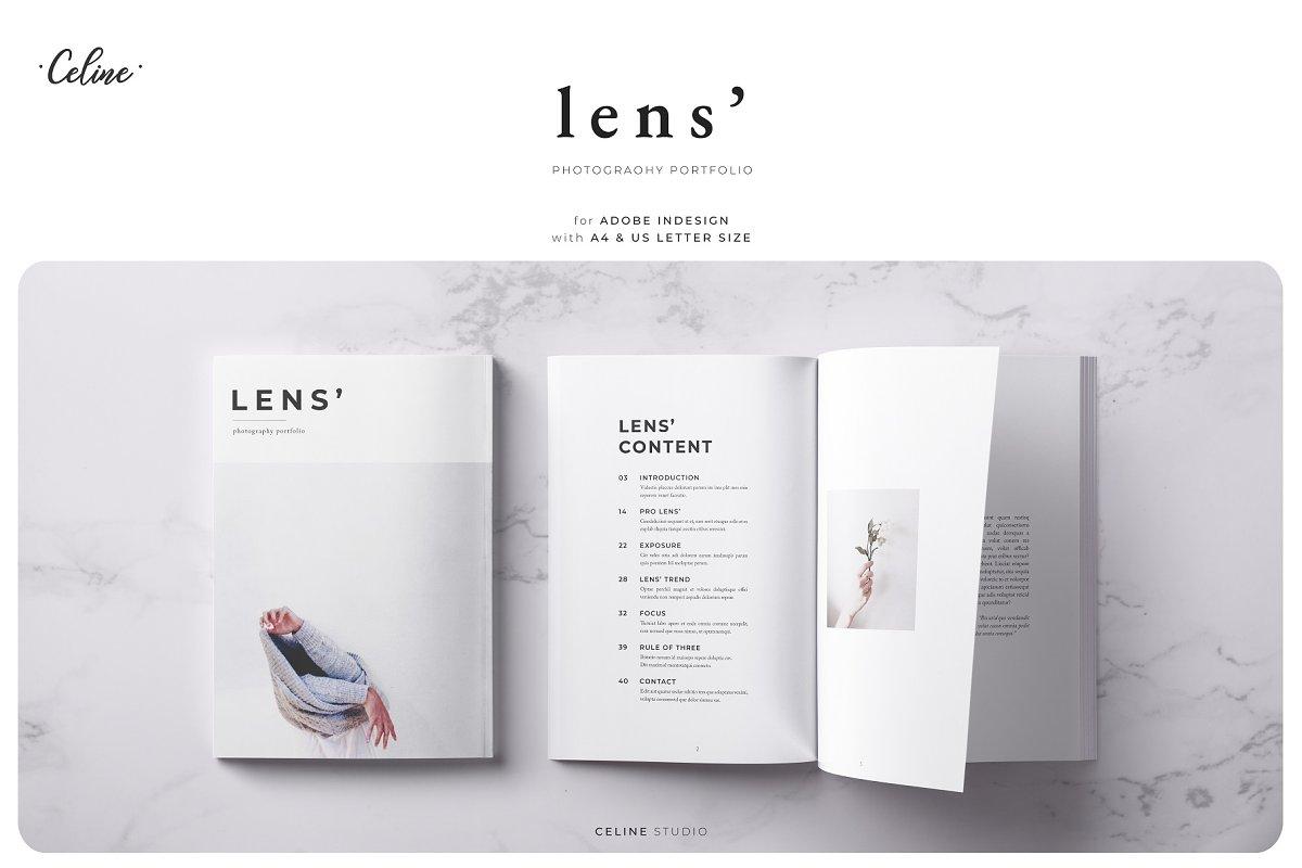 LENS' Photography Portfolio Template