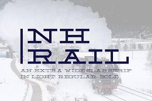 NH Rail - Extra Wide Slab