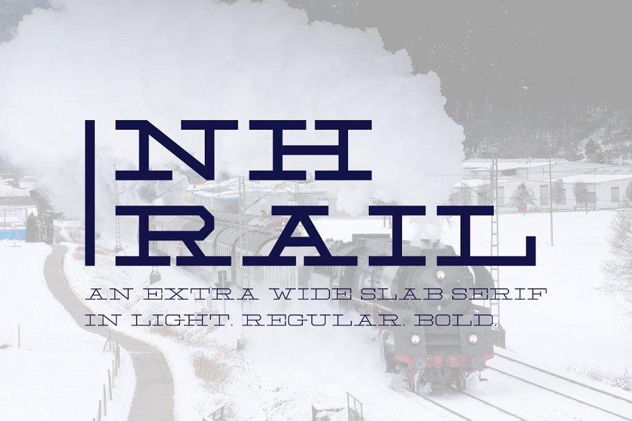 NH Rail - Extra Wide Slab