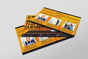 Cleaning Service Company PostCard