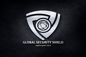Global Security Shield Pro Logo