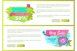 Spring Big Sale 50 Off Advertisement