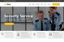 SafZon -Security Guard HTML Template