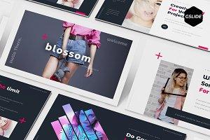 Blossom - Google Slide Template