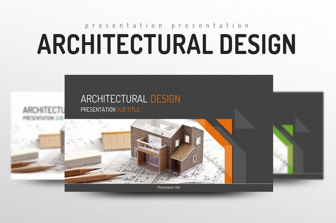 Architectural design presentation templates creative market toneelgroepblik Image collections