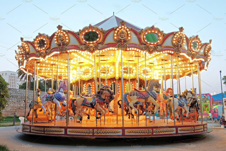 Vintage carousel ~ Arts & Entertainment Photos ~ Creative ...