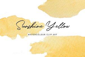Sunshine Yellow: Clip Art