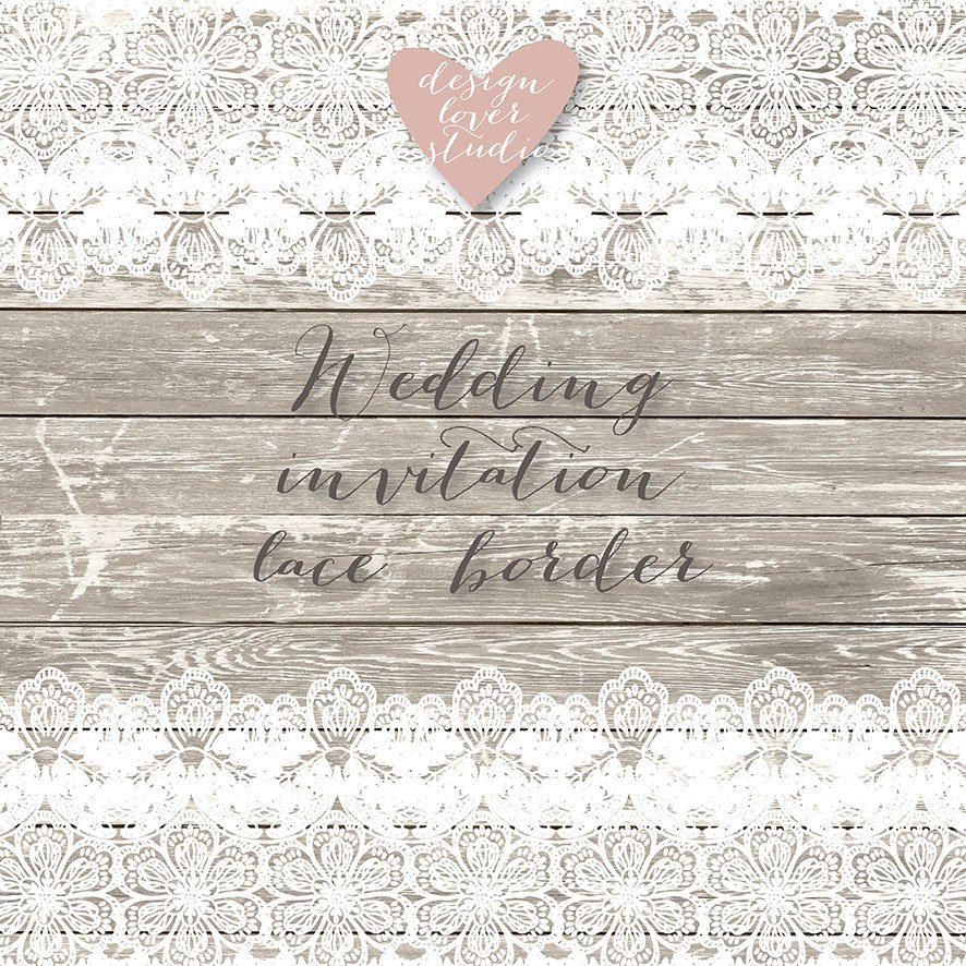Vector Wedding Lace Illustrations Creative Market