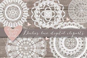 Vector doily lace