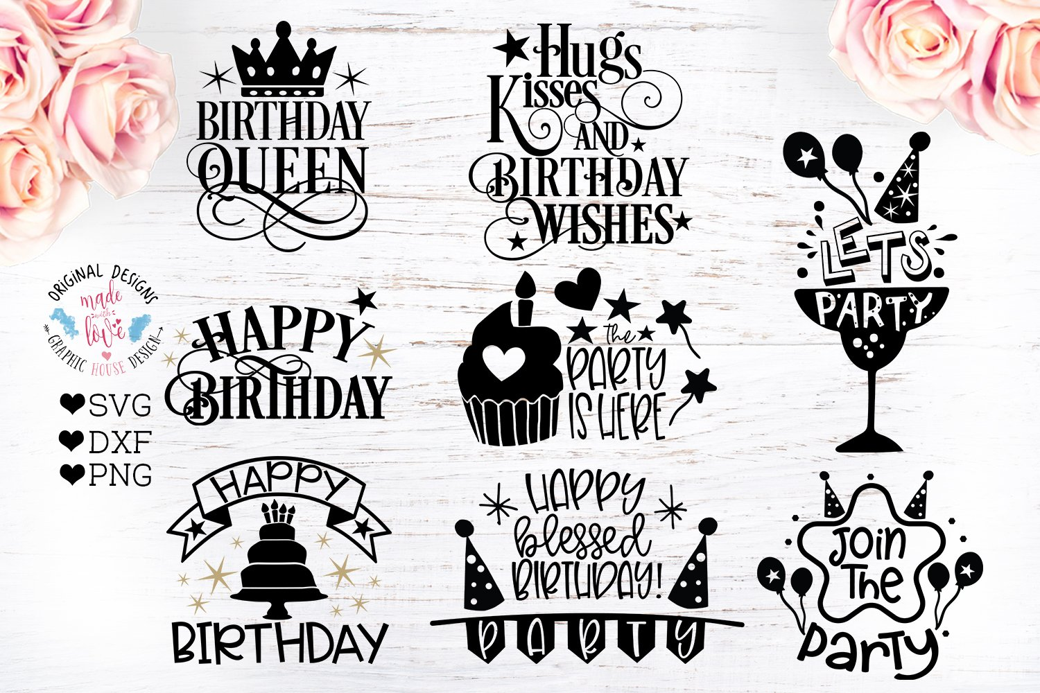 Birthday Quotes - Birthday Cut Files