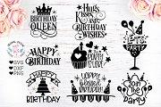 Birthday Quotes - Birthday Cut Files