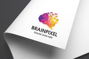 Brain Pixel Pro Logo