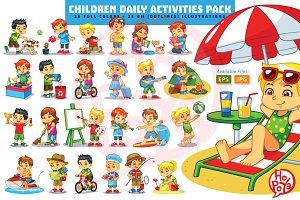 Children Daily Activities Pack