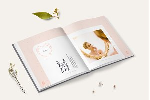 Photo Album Template - Pink
