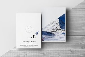 A3 / A4 / A5 Poster / Flyer Mockups