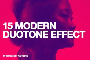 15 Modern Duotone Effect - Action
