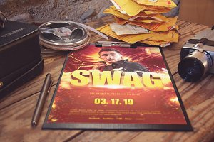 The Swag Party Flyer Template