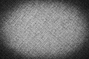 Black and white of sackcloth