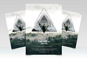 Forest - Geometric PSD Flyer