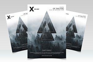 Geometric Event - PSD Flyer