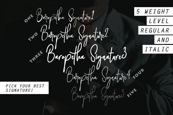Baropetha Signature - 5 Weight Style