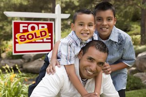 Father & Sons, Home Sold Sign