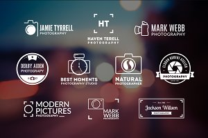 10 Photography Logos Vol. 16