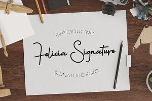 Felicia Signature + Swash