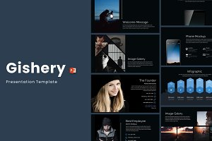 Gishery - Powerpoint Template