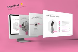 Manhar - Google Slides Template