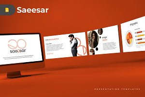 Saeesar - Google Slides Template