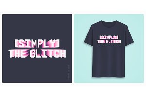 Graphic tee shirt design, print with