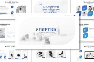 Symetric - Powerpoint Template