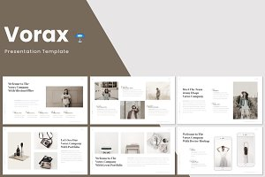 Vorax - Keynote Template
