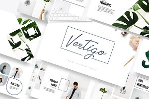 Vertigo Powerpoint Template