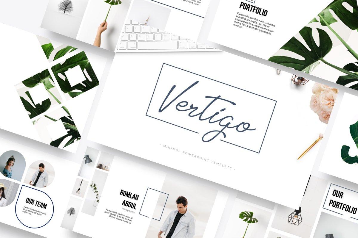 Vertigo Powerpoint Template ~ PowerPoint Templates ~ Creative Market