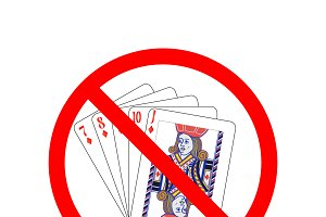 Gambling are not allowed