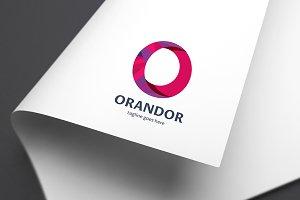 Orandor (Letter O) Logo